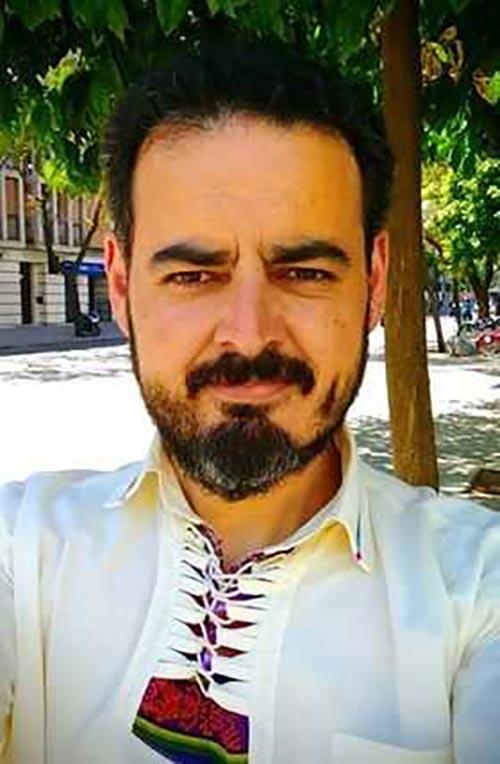Jose Barrientos rostrojo